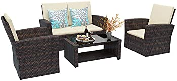 5-Piece Yitahome Patio Furniture Sets with Table