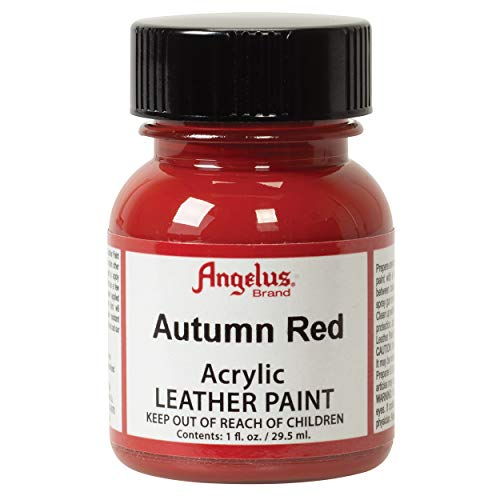 Angelus Acrylic Leather Paint, Autumn Red
