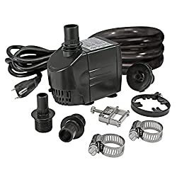 water pumps for pond spitters