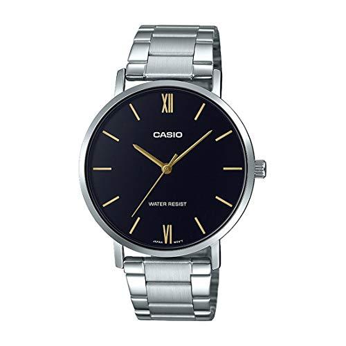 Casio MTP-VT01D-1B Reloj de Pulsera para Hombre Nuevo y Original