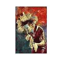 有名なラップマシューヒーリーポスター音楽装飾品2キャンバス絵画ウォールアートリビングルームポスター寝室オフィス装飾絵画24×36インチ(60×90cm)