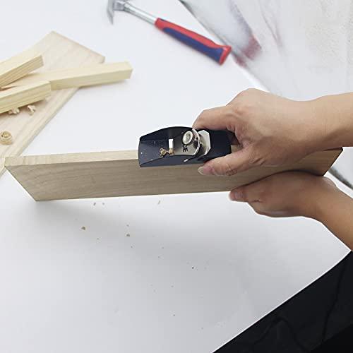 ZLININ Trimmflugzeug Schneidkante Holzbearbeitung Carpenter Tool leicht Tragen Schärfen Mini Holz Handleichte Gadgets