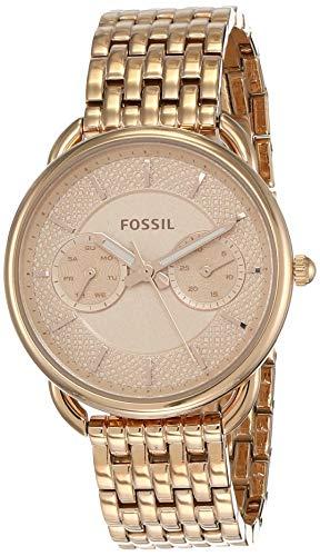 Fossil Reloj Analogico para Mujer de Cuarzo con Correa en Acero Inoxidable ES3713