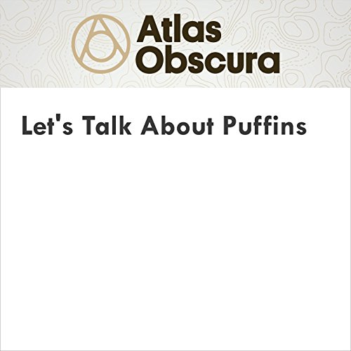 Let's Talk About Puffins audiobook cover art