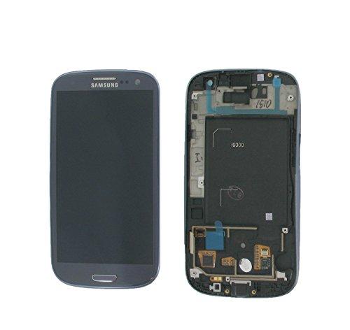 Original Samsung Galaxy S3 I9300 Blau, Lcd-Display, Digitizer, GH97-13630A &