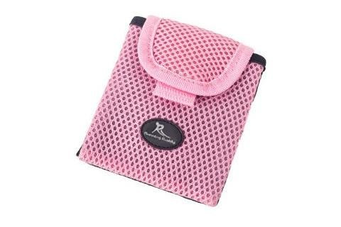 Running Buddy - 'Buddy Pouch Pink Mini - Small and Convenient, Belt-Free and Lightweight Personal Magnetic Storage Pouch (3.5' L x 4' H)