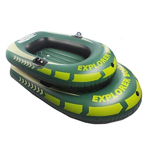 Supertop 2 Personen Schlauchboot Floß, Schlauchboote Wasser Schlauchboot Kajak Fischerboot Für Erwachsene Angeln im Freien