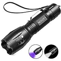 Letion UV Flashlight with 500LM Highlight & 4 Mode