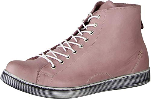 Andrea Conti Damen 0341500 Hohe Sneaker, Beige (Mauve 175), 39 EU