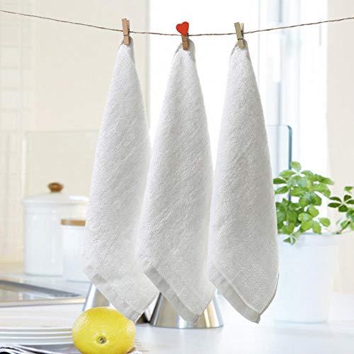 Gbc-type 5 stuks/verpakking 25 x 25 cm Baby Bath washandjes, bamboe, ideaal voor baby's, reizen, badkamerset