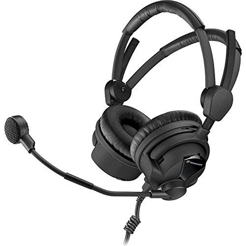 Sennheiser HMD 26-II-600-8 Broadcast Headset, 600 Ohm Impedance, ActiveGard, Dynamic Microphone