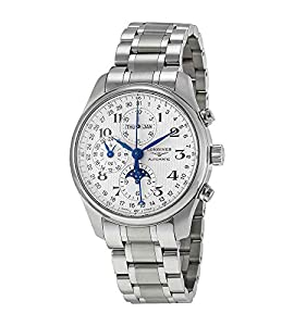 Longines Master Collection Silver Chronograph Dial Stainless Steel Mens Watch L27734786 Prices and Order Now!! and review image