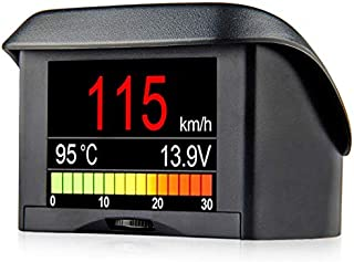 A202 Smart OBD2 On Board Computer HUD Gauge Car Speedometer Water Coolant Temperature Fuel Consumption Voltage Display