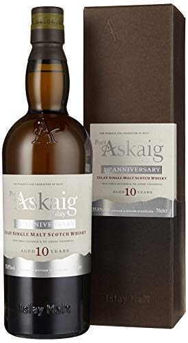 Port Askaig 10 Years Old 10th ANNIVERSARY Islay Single Malt Scotch Whisky (1 x 0.7 L)