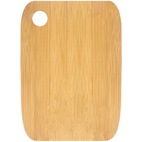 Promobo - Planche A Découper Repose Plat Présentation Apéro En Bambou 20 x 15cm