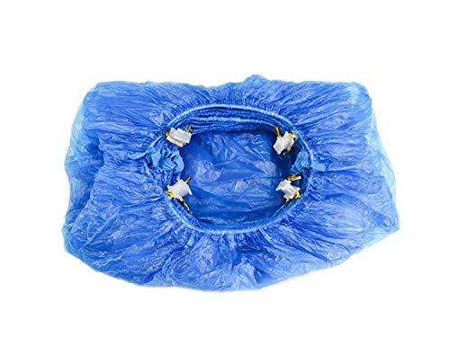 BEPER Set de 100 Bolsas para Cubrir los Zapatos, ABS, Azul, Talla Única