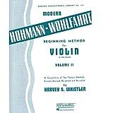 Modern Hohmann-Wohlfahrt Beginning Method Violin - Violin - Book