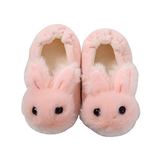 KVbaby Zapatillas de Estar por Casa Unisex Niños Lindo Suave Pantuflas Invierno 23/25 EU (Fabricante: 15-16 / S)