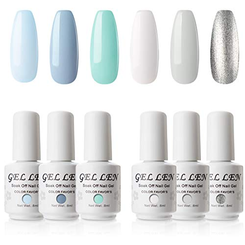 10 best gel nail polish white set for 2020