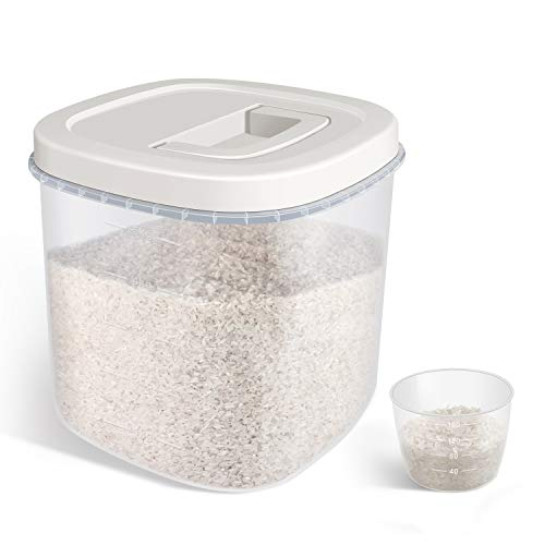 TBMax Large Airtight Rice Storage Container (10 Lbs)