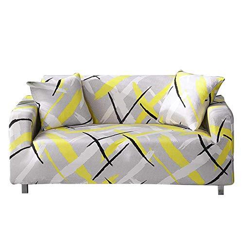 XHCP Pet Bed Jacquard Housse De Canapé Expandable 1/2/3 Seats Housse De Canapé Fauteuil Couvre Sofa Elastic Doux Meubles Maison Protecteur De Meubles Lavable, I: Sofabezug