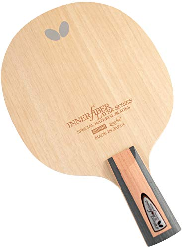 Butterfly Innerforce Layer ZLF CS Table Tennis Blade - ZL Fiber Blade - Professional Table Tennis Blade - Good for Traditional or Reverse Chinese Penhold Style - Made in Japan