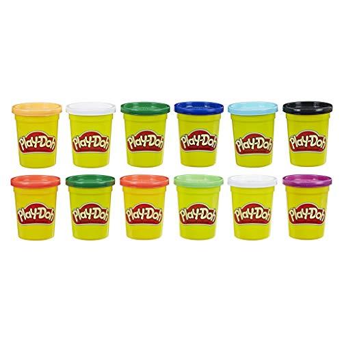Play-Doh Set da 12 Vasetti di Pasta da Modellare Colori Autunnali, Multicolore, 0