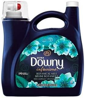 Downy Ultra Infusions Botanical Mist Liquid Fabric Softener 115 Fl. Oz 170 Loads