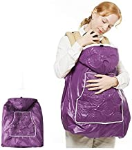 Manito Shiny Skin Infant Carrier Warmer / Bunting / Stroller Footmuff - Purple (4 Available Colors)