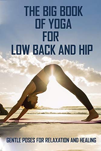 The Big Book Of Yoga For Low Back And Hip: Gentle Poses For Relaxation And Healing: Yoga For Dummies And Breathing Problems (English Edition)