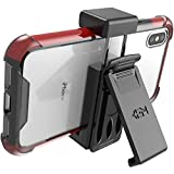 BAISRKE Universal Belt Clip for Cell Phones & Cases   Galaxy Note,Fits iPhone X XS, iPhone 6/6s/7/8, iPhone 6 Plus/6s Plus/7 Plus/8 Plus, iPhone 11 Pro max   Black