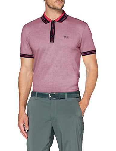 BOSS Herren Paddy 2 Polohemd, Bright Pink, L