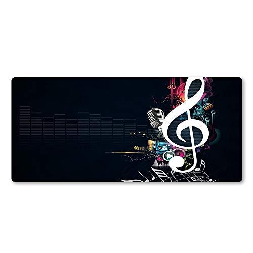 Musik mauspad Gummi Player persönlichkeit Neue Laptop Tastatur große tischset 1 600x300x2