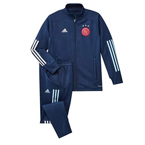 adidas Jungs FI5190 Trainingsanzug Ajax Amsterdam 2020-2021, Mistery Blue, 116