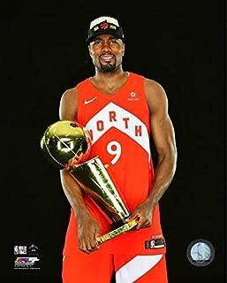 Serge Ibaka Toronto Raptors 2019 NBA Finals Trophy Photo (Size: 20