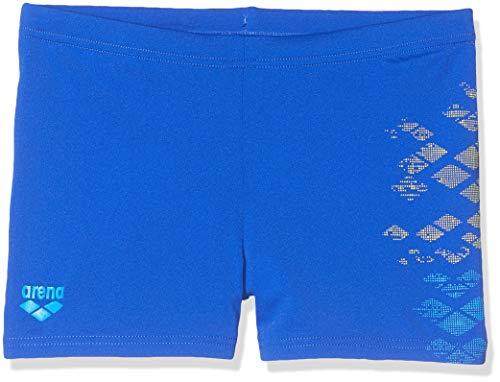 ARENA Jungen Badeshorts Dongle Badehose, neon Blue, 128