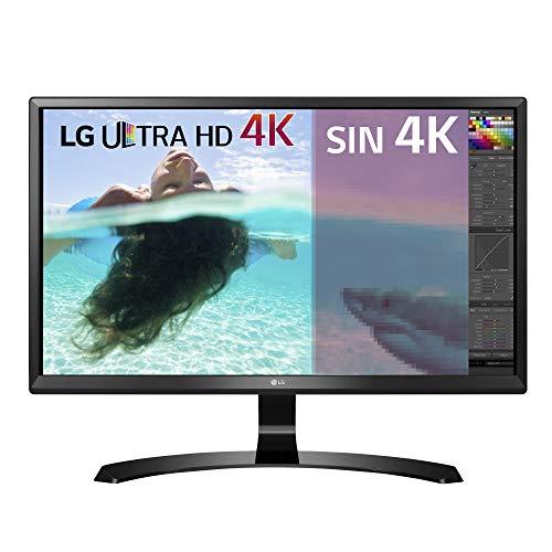 LG 27UD58-B - Monitor UHD 4K de 27 pulgadas (Panel IPS, 3840 x 2160 pixeles, 16:9, 250 cd/m², 1000:1, NTSC 72%, 5 ms) Color Negro