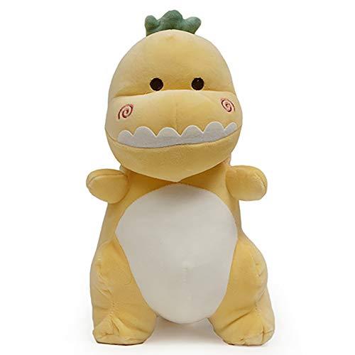 Nbeebro Cute Baby Dinosaur Plush Doll, Soft Dinosaur Stuffed Animals Toys for Kids Boys Girls Birthday Xmas Gift, Yellow 11.8Inches