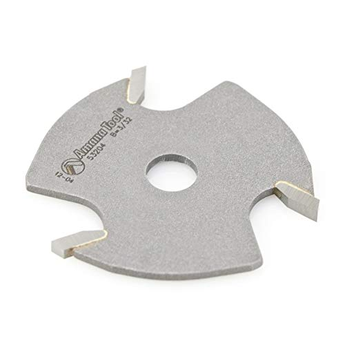 Amana Tool - 53204 Slotting Cutter 3 Wing x 1-7/8 Dia x 3/32 x 5/16 Inner Dia