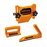 POWERTEC 71551 Safety Kit - Featherboard, Push Block and Push Stick, 3PK