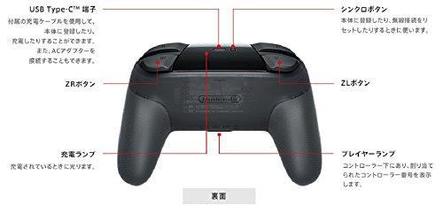 任天堂(Nintendo)『NintendoSwitchProコントローラー』