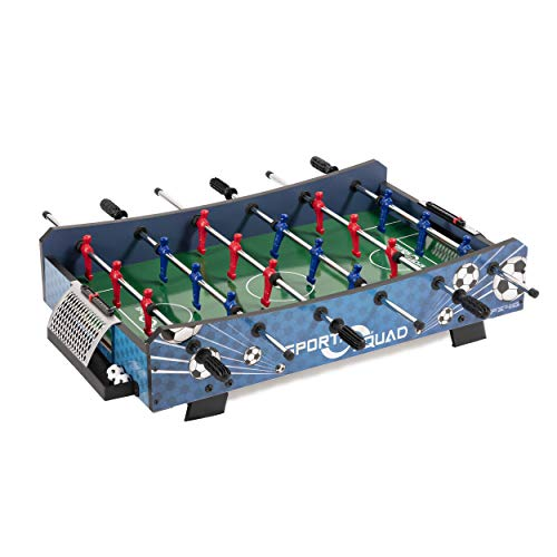 Sport Squad FX40 40-inch Compact Mini Tabletop Foosball Table