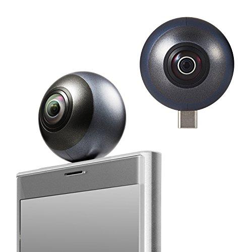 ELECOM 360 Grados cámara del Smartphone Tipo...