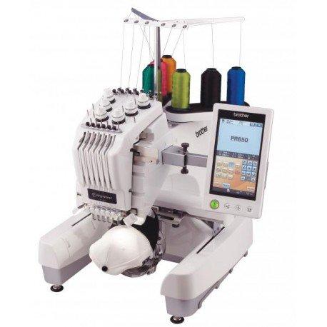 Ricamatrice Professionale Brother PR-650 884-T05 macchina da ricamo a sei aghi Display touch screen LCD HD