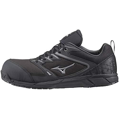 [ミズノ] 安全靴 オールマイティ VS 軽量 紐 メッシュ JSAA・普通作業用(A種) ブラック×シルバー 26 cm 3E