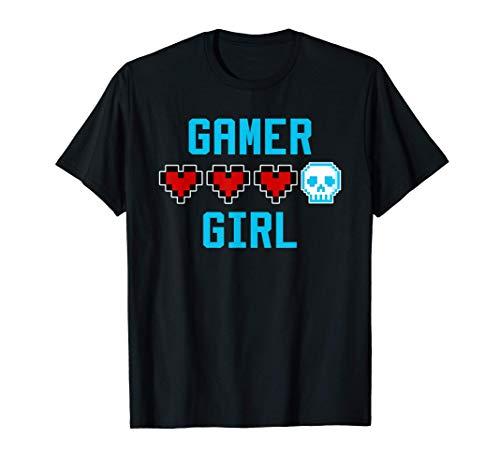 Gamer Gift for Boys & Girls Video Game Gaming Gamer Girl T-Shirt