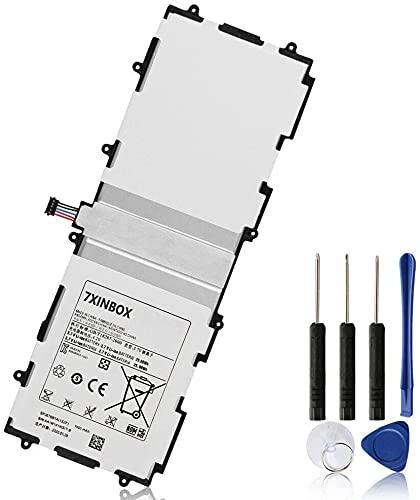 7XINbox SP3676B1A SP3676B1A(1S2P) 3.7V 25.90Wh 7000mAh Reemplazo de batería para Samsung Galaxy Note Tab 2 10.1 GT-N8000 N8000 N8010 N8020 P5100 P5110