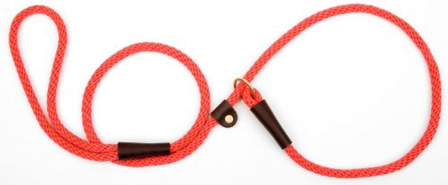 Mendota Products Dog Slip Lead, 3 8Inch by 4Feet, Red by Mendota Products