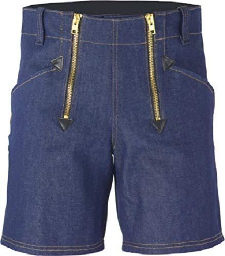 JOB Dachdecker Zimmermann Zunft-Shorts Kurze Hose Jeans blau