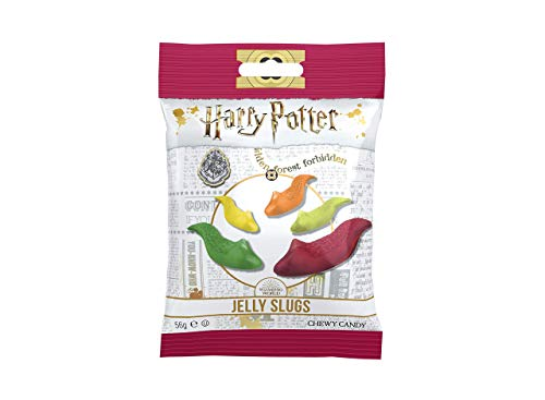 Jelly Belly Harry Potter Candy, Jelly Slugs - Fruta Jaleas, Gominola Dulces, Delicioso Niños Invitar - Paquete de 1 ,2.1oz, Harry Potter Regalos para Niños